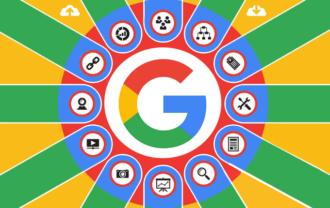 A picture of Google roulette